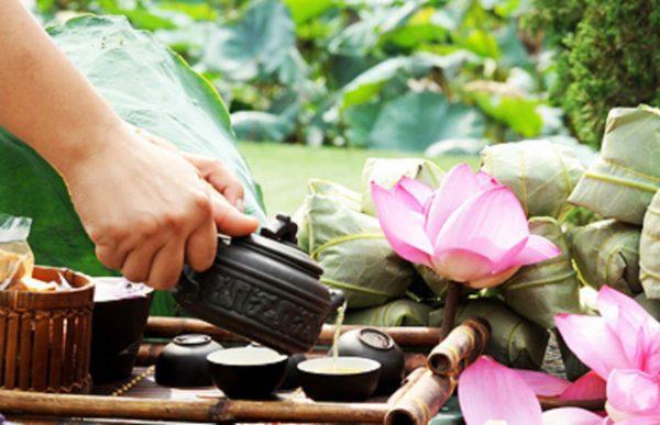Trà hoa sen và những tác dụng tuyệt vời